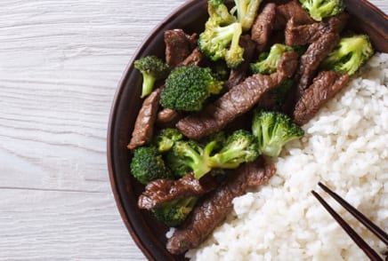 Saucy Beef Broccoli